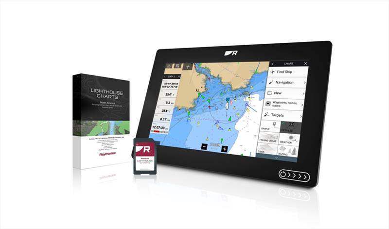 LightHouse Charts Packaging, SD Card & Axiom  - photo © Raymarine