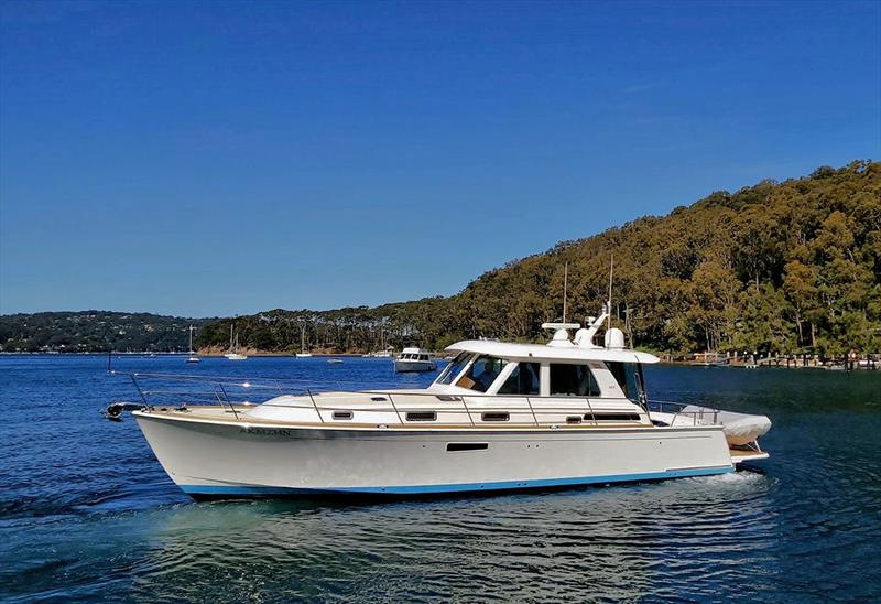 Sabre Yachts 48 is the latest of the marque to make it to Australia - photo © E Marine Motor Yachts
